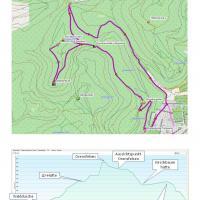 Karte u. Höhenprofil